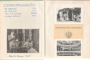 Kirmße Edith Bühnentagebuch der Sopranistin Edith Kirmße 1947 - 1955 UNIKAT