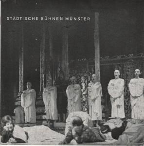 Städtische Bühnen Münster, Horst Gnekow Städtische Bühnen Münster Spielzeit 1969 / 70 Information 13