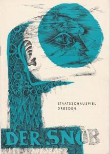 Staatstheater Dresden, Hans Dieter Mäde, Gotthard Müller, Heinz Pietzsch Programmheft DER SNOB. Komödie von Carl Sternheim Spielzeit 1965 / 66 Heft 2