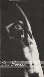 Landesbühnen Sachsen, Christian Pötzsch, Thomas Sprink, Dieter Bode Programmheft Mozart: DON GIOVANNI Premiere 8. Dezember 1979 Spielzeit 1979 / 80 Heft 4