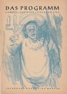Hebbel Theater / Volksbühne, Karl Heinz Martin Programmheft DAS PROGRAMM Hebbel Theater / Volksbühne Spielzeitheft 1947