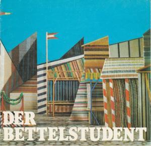 Komische Oper Berlin, Joachim Großkreutz Programmheft Karl Millöcker: DER BETTELSTUDENT 25. Februar 1981
