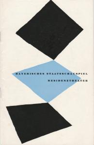 Bayerisches Staatsschauspiel Helmut Henrichs, Walter Haug Programmheft Neuinszenierung Lope de Vega DIE KLUGE NÄRRIN Premiere 23. Dezember 1959 Residenztheater Spielzeit 1959 / 60 Heft 4