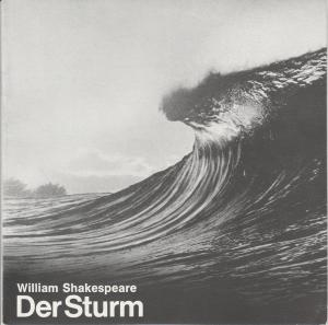 Städtische Bühnen Augsburg, Rudolf Stromberg, Wolfgang Kunz Programmheft William Shakespeare: DER STURM Premiere 25. November 1979 Spielzeit 1979 / 80 Heft 7