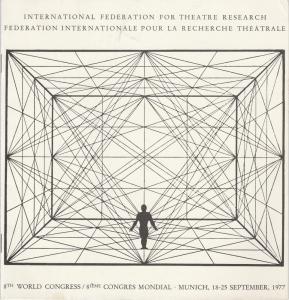 International Federation for Theatre Research, Federation Internationale pour la Recherche Theatrale Programmheft 8th World Congress Munich 18 - 25 September 1977
