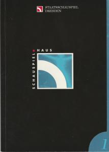 Staatsschauspiel Dresden, Dieter Görne, Heike Müller-Merten, Anja Winker, Jürgen Haufe Programmheft Henryk Ibsen: PEER GYNT Premiere 9. September 1995