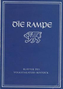 Volkstheater Rostock, Hanns Anselm Perten, Hans Fetting Programmheft Mozart: DIE HOCHZEIT DES FIGARO Spielzeit 1955 / 56