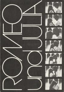 Komische Oper, Karin Feister, Hartmut Henning Programmheft William Shakespeares / Sergej Prokofjew ROMEO UND JULIA 11. Januar 1985