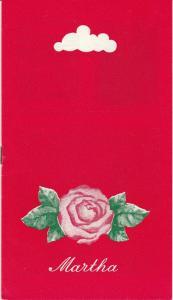 Landesbühnen Sachsen, Christian Pötzsch, Volkmar Spörl, Thomas Sprink, Karl Koppe Programmheft Friedrich von Flotow: MARTHA. Premiere 12. Mai 1979 Spielzeit 1978 / 79 Heft 10