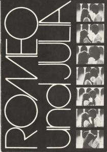 Komische Oper, Karin Feister, Arwid Lagenpusch, Hartmut Henning Programmheft Shakespeare / Sergej Prokofjew ROMEO UND JULIA 11. Januar 1985