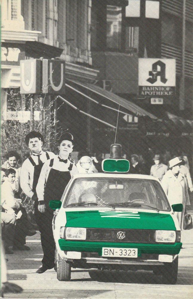 Theater der Stadt Bonn, Hans-Joachim Heyse, Ansgar Haag, Wolfgang Detering ( Fotos ) Programmheft Stan und Ollie in Deutschland von Urs Widmer Premiere 26. April 1981 0