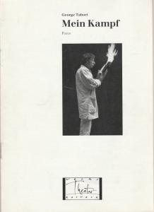 Volkstheater Rostock, Berndt Renne, Sigrid Hoelzke, Lothar Roß Programmheft MEIN KAMPF. Farce von George Tabori. Premiere 17. Mai 1991 Spielzeit 1990 / 91