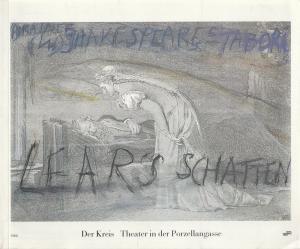Der Kreis Theater in der Porzellangasse Programmheft William Shakespeare LEARS SCHATTEN Premiere 22. Juli 1989 Bregenz