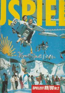 Schauspiel Bonn, Peter Eschberg, Johannes Lomberg, Michael Pehlke, Jürgen Tombers, Benedikt Spiegel, Eva-Maria Wagner Schauspiel Bonn Spielzeit 1989 / 90 Heft 2