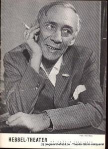 Flatow Curt Das Geld liegt auf der Bank. Ein Vorspiel, das ein Nachspiel hat. Uraufführung. Programmheft Hebbel Theater Spielzeit 1969 / 1970