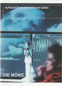 Schaubühne am Lehniner Platz, Jens Hillje, Heinrich Kreyenberg Programmheft DIE MÖWE von Anton Tschechow Premiere 15. Oktober 2004 Spielzeit 2004 / 2005