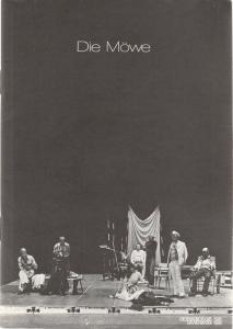 Oldenburgisches Staatstheater, Harry Niemann, Cornelie Ueding, Emmy Krämer, Hansheinrich Palitzsch Programmheft Anton Cechov DIE MÖWE Premiere 13. Oktober 1978 Großes Haus Spielzeit 1978 / 79 Heft 7 ( Tschechow )