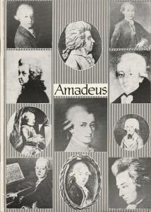 Theater Stralsund, Siegfried Böttger, Diana Anders, Christiane Domroese Programmheft Peter Shaffer AMADEUS Premiere 20. Januar 1983 Spielzeit 1982 / 83 Heft 8