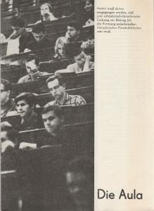 Deutsches Theater / Kammerspiele, Klaus Pfützner, Horst Wodtke Programmheft Hermann Kant DIE AULA Premiere Februar 1969 Spielzeit 1969 / 70