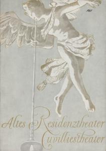 Bayerisches Staatsschauspiel, Helmut Henrichs, Ernst Wendt Programmheft Moliere DER GEIZIGE Premiere 29. Oktober 1967 Altes Residenztheater Cuvillies Theater
