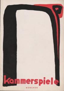 Münchner Kammerspiele, Werner Bergold, Hildegard Steinmetz Programmheft F. Hugh Herbert WOLKEN SIND ÜBERALL Spielzeit 1951 / 52 Heft 1