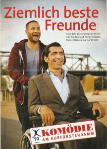 Komödie am Kurfürstendamm Programmheft Gunnar Dreßler ZIEMLICH BESTE FREUNDE Wiederaufnahme 20. August 2014 Spielzeit 2014 / 2015
