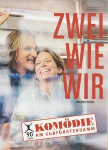 Komödie am Kurfürstendamm Programmheft Norm Foster ZWEI WIE WIR Premiere 11. Januar 2015 Spielzeit 2014 / 2015