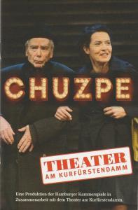 Theater Am Kurfürstendamm, Anja del Caro, Mary Eufinger Programmheft Lily Brett CHUZPE Premiere 23.11.2016