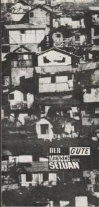 Volksbühne am Luxemburgplatz, Karl Holan, Irene Böhme Programmheft Bertolt Brecht DER GUTE MENSCH Von SEZUAN Premiere 17. April 1970 Spielzeit 1969 / 70