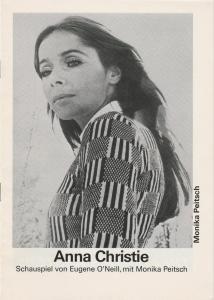 Schweizer Tournee-Theater Programmheft Eugene O'Neill ANNA CHRISTIE