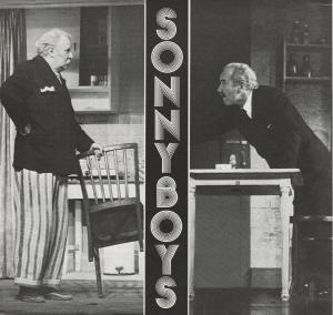 Konzertdirektion Landgraf, Birgit Landgraf Programmheft Neil Simon SONNYBOYS Spielzeit 1977 / 78 3-fach signiert