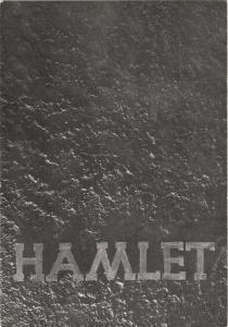Stadttheater Zittau, Hubertus Methe, Karlheinz Baumgärtel Programmheft William Shakespeare HAMLET Spielzeit 1958 / 59