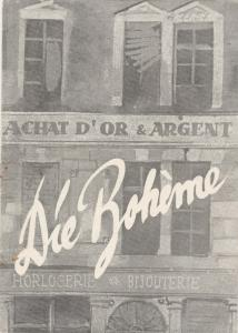 Stadttheater Zittau, Hubertus Methe, Manfred Grund Programmheft Giacomo Puccini LA BOHEME Spielzeit 1956 / 57 Heft 20