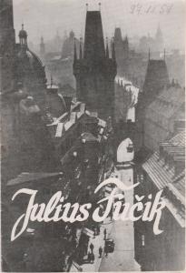 Stadttheater Zittau, Hubertus Methe, Wolfgang Müller Programmheft Juri Burjakowski JULIUS FUCIK Spielzeit 1957 / 58