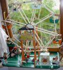 gro�es, antikes Riesenrad f�r Puppenstuben-Puppen, einmalige Dekoration f�r Schaufenster, Ausstellungen usw.