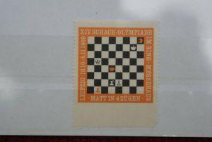 SPORT - SCHACH, Vignette Schach-Olympiade 1960 Leipzig