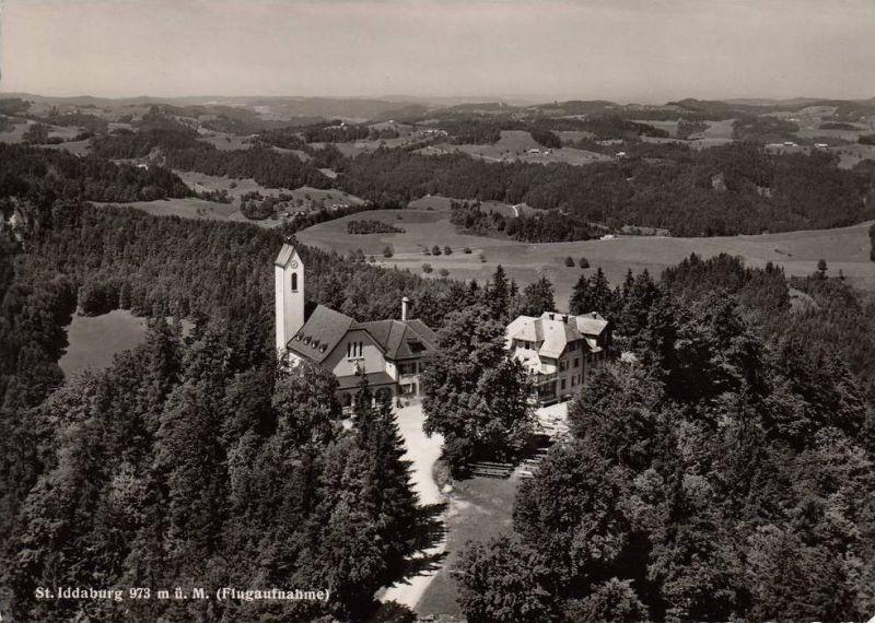 CH 9533 KIRCHBERG - GÄHWIL - ST.IDDABURG, Luftaufnahme