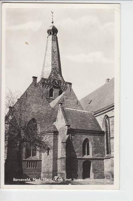 NL - GELDERLAND - BARNEVELD, Ned. Herv. Kerk med toren