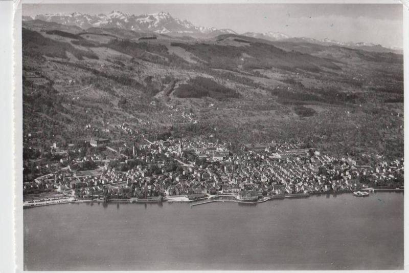CH 9400 RORSCHACH, Luftaufnahme, 1957