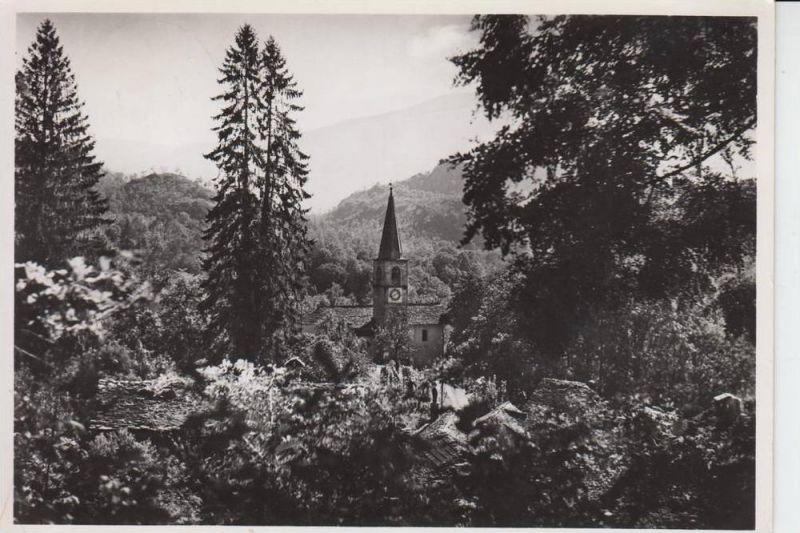 CH 6616 ARCEGNO, Dorfpartie 1954