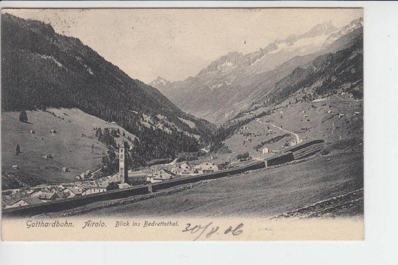 CH 6780 AIROLO, Bedrettothal, 1905