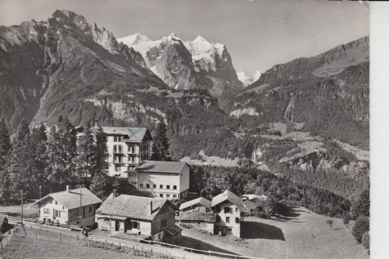 CH 6086 REUTI - Hasliberg 1958, Christl.Hospiz & Ferienheim