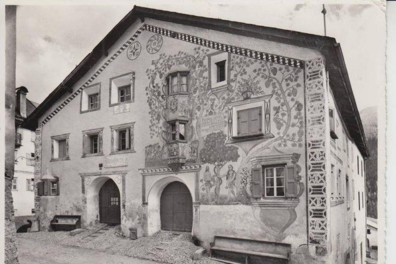 CH 7546 ARDEZ, Adam & Eva Haus 1958
