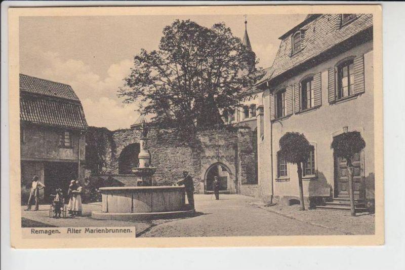 5480 REMAGEN, Alter Marienbrunnen