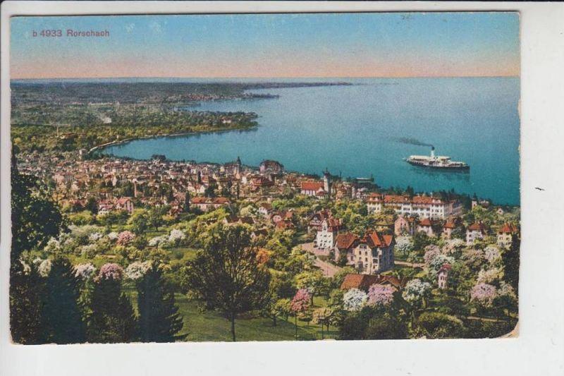 CH 9400 RORSCHACH, Panorama 1929
