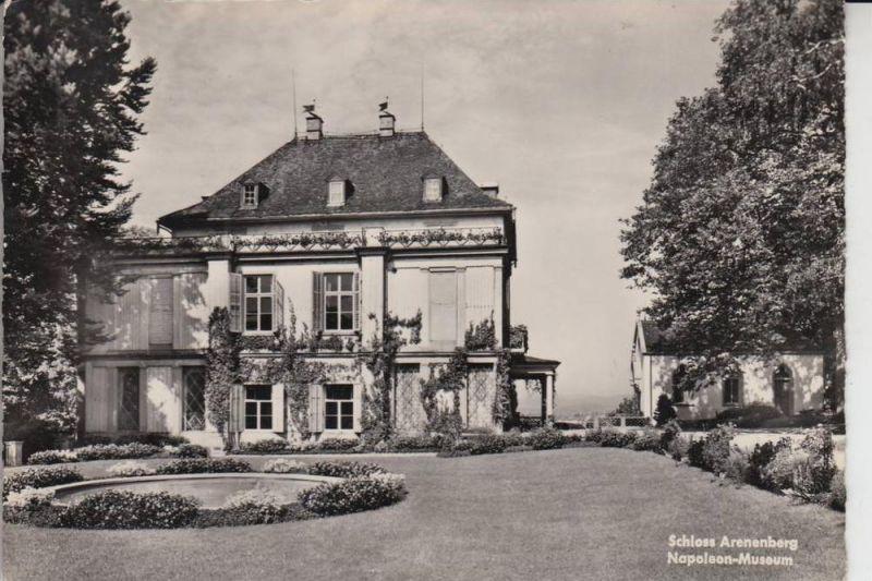 CH 8268 MANNENBACH - SALENSTEIN, Schloss Arenenberg 1957, Napoleon-Museum