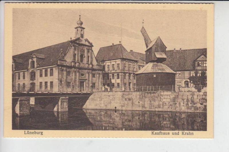 2120 LÜNEBURG, Kaufhaus und Krahn