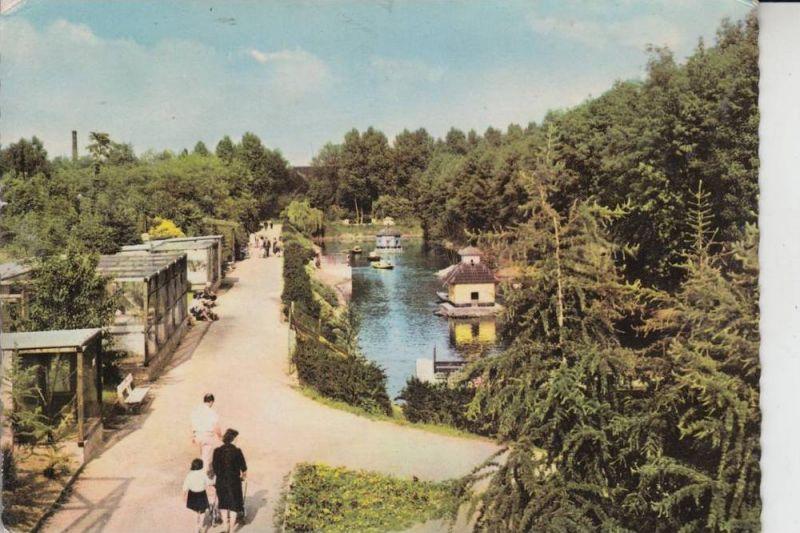 5170 JÜLICH, Brückenkopf mit Kleinzoo 1964