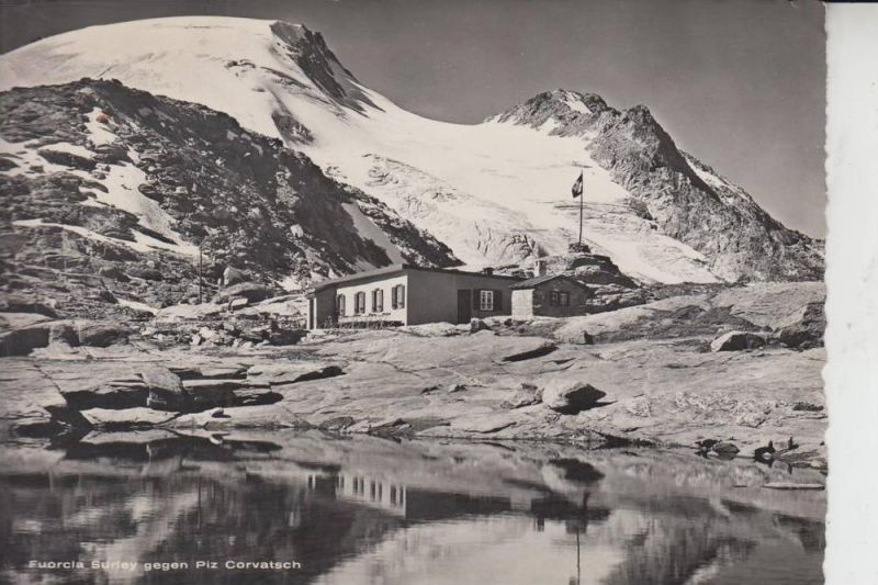 CH 7514 SILS, Fuorcia Surley & Piz Corvatsch, 1950