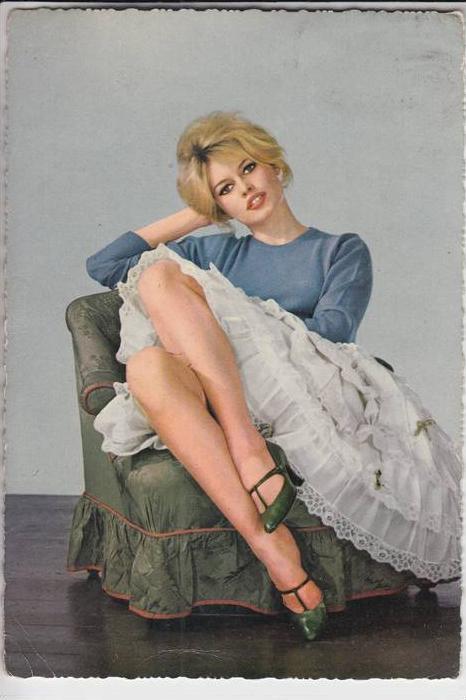 Film Star Brigitte Bardot Verlag Kr Ger 60ies Nr